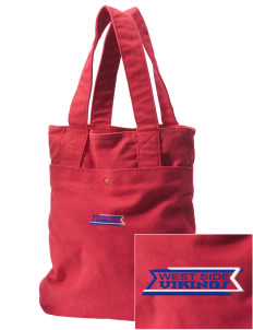 West Side School Vikings Embroidered Alternative The Berkeley Tote
