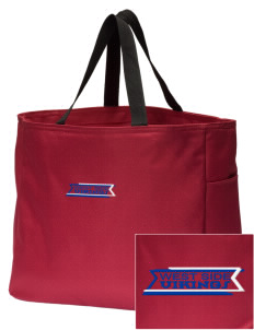 West Side School Vikings Embroidered Essential Tote