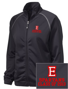 East Middle School Spartans Embroidered Holloway Women's Attitude Warmup Jacket