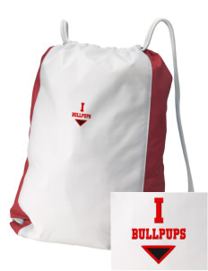 Irving Primary Center Bullpups Embroidered Holloway Home and Away Cinch Bag