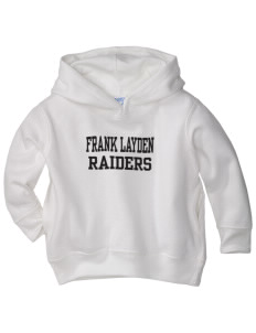 Frank Layden Elementary School Raiders  Toddler Fleece Hooded Sweatshirt with Pockets