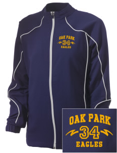 Oak Park Elementary School Eagles Embroidered Russell Women's Full Zip Jacket