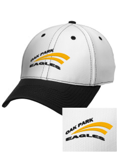Oak Park Elementary School Eagles Embroidered New Era Snapback Performance Mesh Contrast Bill Cap