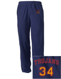 Johnson Elementary School Trojans Embroidered Holloway Men's Flash Warmup Pants