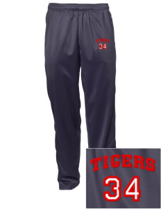 Argillite Elementary School Tigers Embroidered Men's Tricot Track Pants