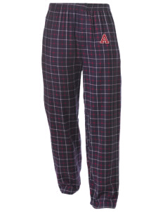Argillite Elementary School Tigers Men's Button-Fly Collegiate Flannel Pant with Distressed Applique