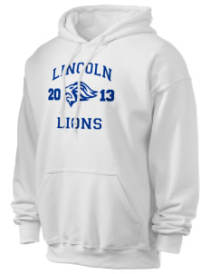 Lincoln High School Lions Ultra Blend 50/50 Hooded Sweatshirt