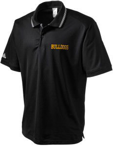 Pendleton Junior High School Bulldogs adidas Men's ClimaLite Athletic Polo