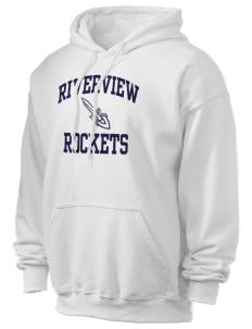 Riverview Elementary School Rockets Ultra Blend 50/50 Hooded Sweatshirt
