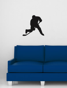 "Mitchell Middle School Cornelius Wall Silhouette Decal 20"" x 24"""