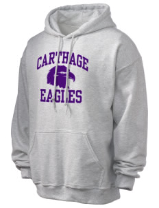 Carthage Elementary School Eagles Ultra Blend 50/50 Hooded Sweatshirt