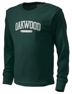 Oakwood High School Hawks  Kid's Long Sleeve T-Shirt