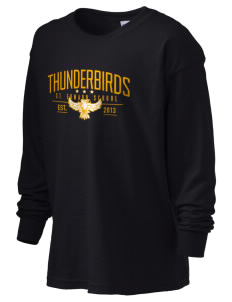 St. Edward Thunderbirds Kid's 6.1 oz Long Sleeve Ultra Cotton T-Shirt