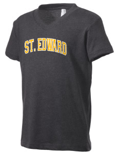 St. Edward Thunderbirds Kid's V-Neck Jersey T-Shirt