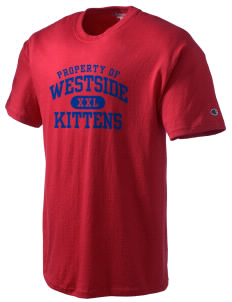 Westside Elementary School Kittens Champion Men's Tagless T-Shirt
