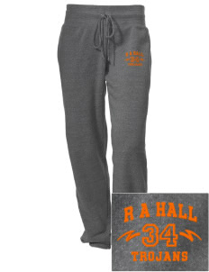 R A Hall Elementary School Trojans Embroidered Alternative Women's Unisex 6.4 oz. Costanza Gym Pant