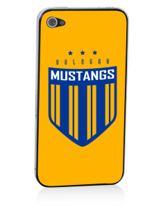 Oologah High School Mustangs Apple iPhone 4/4S Skin