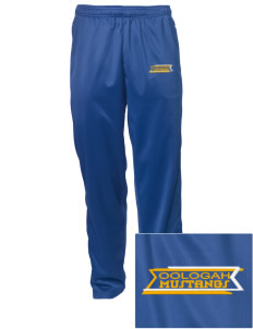 Oologah High School Mustangs Embroidered Men's Tricot Track Pants