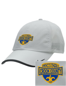 Crook County High School Cowboys Embroidered Nike Dri-FIT Swoosh Perforated Cap