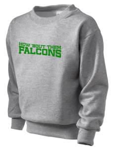 Fairview Elementary School Falcons Kid's Crewneck Sweatshirt