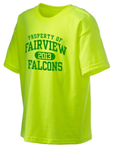 Fairview Elementary School Falcons Kid's 6.1 oz Ultra Cotton T-Shirt