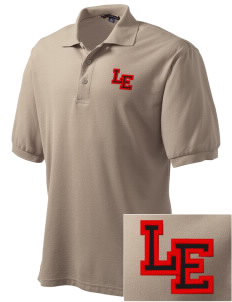 Lundy Elementary Middle School Devils Embroidered Tall Men's Silk Touch Polo
