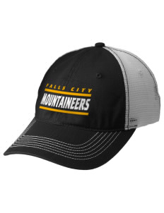 Falls City Elementary School Mountaineers Embroidered Mesh Back Cap
