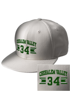 Chehalem Valley Middle School Wolves  Embroidered New Era Flat Bill Snapback Cap