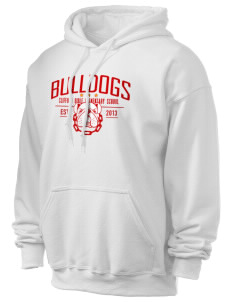 Clifford Dible Elementary School Bulldogs Ultra Blend 50/50 Hooded Sweatshirt