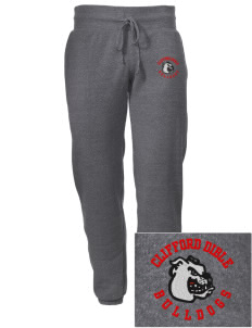 Clifford Dible Elementary School Bulldogs Embroidered Alternative Men's 6.4 oz Costanza Gym Pant