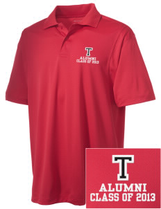 Tilden Elementary School Hawks Embroidered Men's Micro Pique Polo