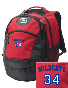 Walter S Miller Elementary School Wildcats Embroidered OGIO Rogue Backpack