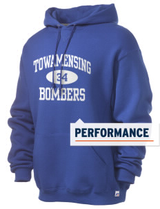 Towamensing Elementary School Bombers Russell Men's Dri-Power Hooded Sweatshirt