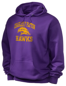 Charles F Patton Middle School Hawks Holloway Men's 50/50 Hooded Sweatshirt