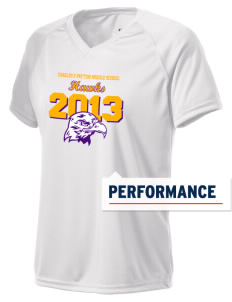 Charles F Patton Middle School Hawks Holloway Women's Zoom Performance T-Shirt