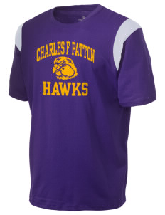 Charles F Patton Middle School Hawks Holloway Men's Rush T-Shirt