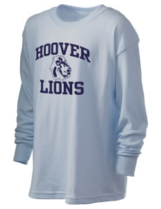 Hoover Elementary School Lions Kid's 6.1 oz Long Sleeve Ultra Cotton T-Shirt