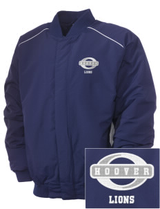 Hoover Elementary School Lions Embroidered Russell Men's Baseball Jacket