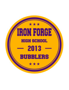Iron Forge Education Center Bubblers Sticker