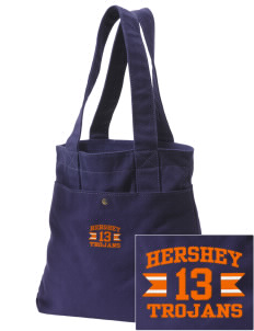 Hershey Elementary School Trojans Embroidered Alternative The Berkeley Tote