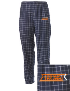 Hershey Elementary School Trojans Embroidered Men's Button-Fly Collegiate Flannel Pant
