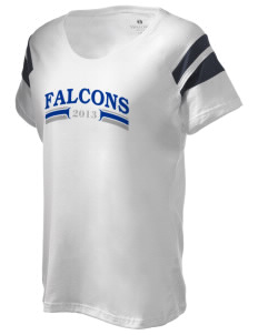 South Hanover Elementary School Falcons Holloway Women's Shout Bi-Color T-Shirt