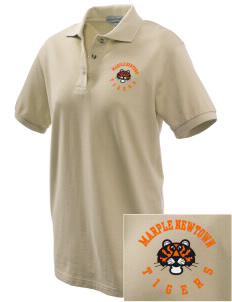 Marple Newtown High School Tigers Embroidered Women's Pique Polo