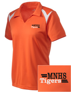 Marple Newtown High School Tigers Embroidered Holloway Women's Laser Polo