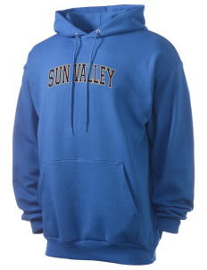 Sun Valley High School Vanguards Men's 7.8 oz Lightweight Hooded Sweatshirt