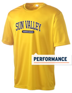 Sun Valley High School Vanguards Men's Competitor Performance T-Shirt