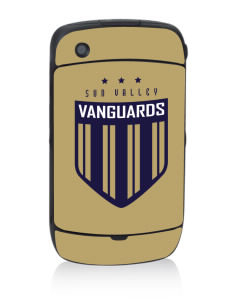 Sun Valley High School Vanguards Black Berry 8530 Curve Skin