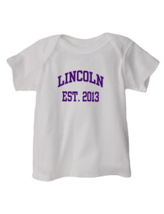 Lincoln Elementary School Lincoln Lions  Baby Lap Shoulder T-Shirt