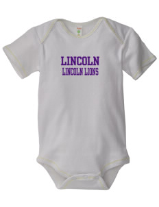 Lincoln Elementary School Lincoln Lions Baby Zig-Zag Creeper
