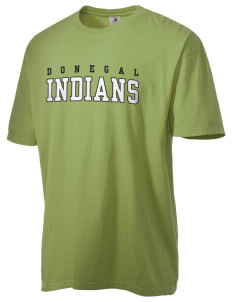Donegal Middle School Indians Men's Pigment-Dyed Vintage T-Shirt